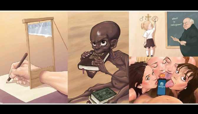 Vorsicht! 20 kontroverse Darstellungen der dunklen Seite unserer Gesellschaft