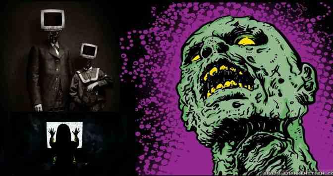 Fernsehen verwandelt Sie in einen Zombie!