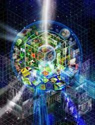 matrix The World within the Box - Saturn-Moon Matrix