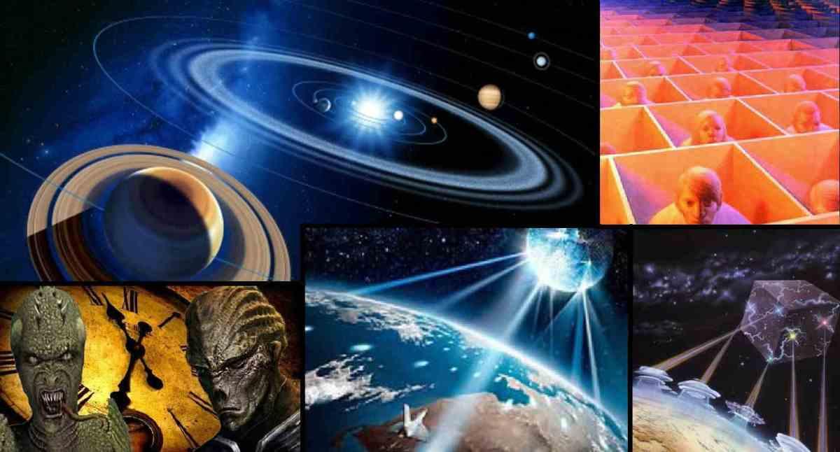 Die Saturn-Mond-Matrix und unsere falsche Erde!
