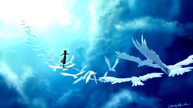 art_in_the_sky_birds_girl_fantasy_clouds_74936_2048x1152-r100
